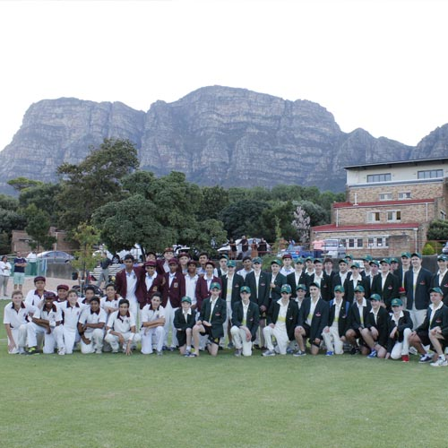 cricket school tour team