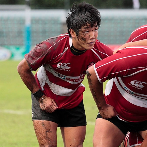 Japan Junior Rugby Player
