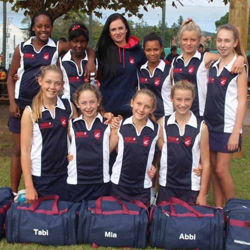 primary school netball team