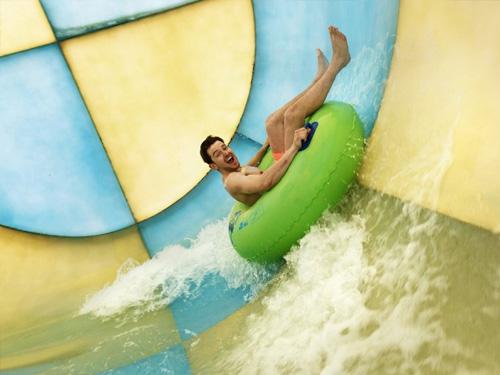 Center Parcs Water Slide