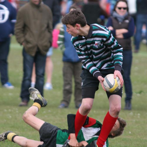 rugby tournament action
