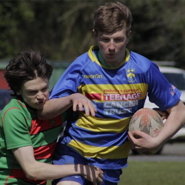 south wales rugby festival action