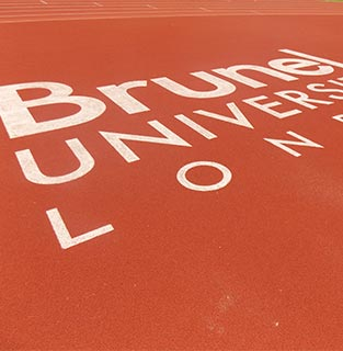 Brunel Athletics track