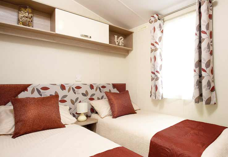 caravan bedroom trecco